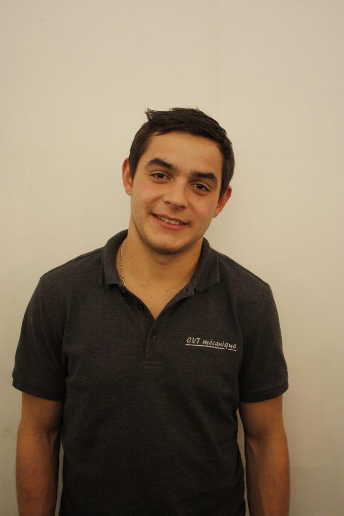 Romain Pasche - Chef d'atelier